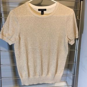 Perfect gold sparkly holiday top